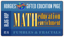 Join Hoagies' this month for a smorgasbord of Math, from favorite curriculum and enrichment sources, to the most challenging math moments.