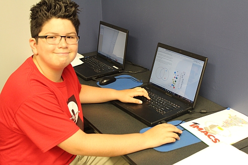 Online gifted math program designed by mathematicians for talented and motivated middle school students.