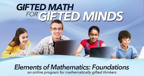 An online gifted math program covering Pre-Algebra through Precalculus in three years.