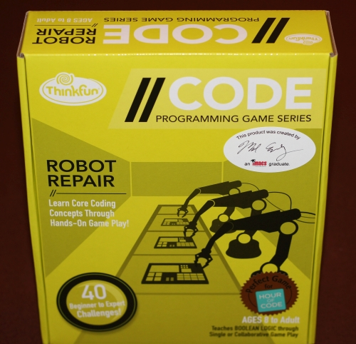 Take the EMF or eIMACS Aptitude Test for your chance to win an autographed copy of Robot Repair.