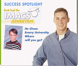 Student Spotlight for Brett